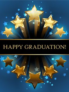 Send Free Shooting Star Graduation Card to Loved Ones on Birthday & Greeting Cards by Davia. It's free, and you also can use your own customized birthday calendar and birthday reminders. Graduation Wishes Quotes, Happy Graduation Day, Graduation Greetings, Graduation Cards, Birthday Greeting Cards, Birthday Greetings, Birthday Wishes, Happy Birthday, Graduation Leis