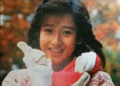 岡田有希子 DUNK記事 1985年1月号目次写真