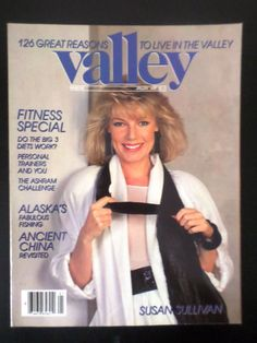 valley #magazine 1988 january susan sullivan: her singular #style from $14.99 4/12/2016 ®....#{T.R.L.}