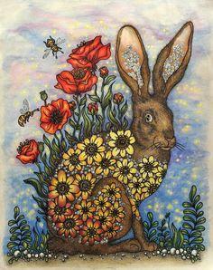 Dagdrömmar, HannaKarlzon, rabbit,