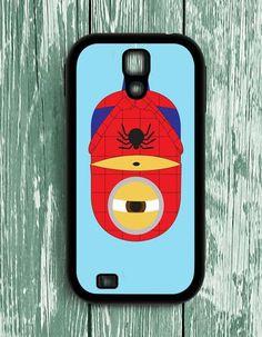 Spiderman Minion Despicable Me Samsung Galaxy S4 Case