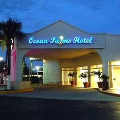 Magnuson Hotel Ocean Palms-St. Petersburg FL 33714. Upto 25% Discount   Packages. Near by Attractions include Tropicana Field, The Pier, Bayfront Center   Fort De Soto Park, Gulf Beaches, Salvador Dali Museum, Florida International Museum.   Free Parking and Free Wifi internet. Book your room and start saving with   SecureReservation. Please visit- http://www.oceanpalmshotelstpete.com/