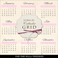 2014 Calendars  3 styles!