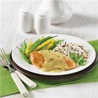 Poulet À La Sauce Dijonnaise Crémeuse Aux Fines HerbesDlicieuses recettes, parfaites pour les repas en famille | Aliments French's(MD)