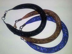 "Pulseras de malla de red tipo ""stardust"" #bracelet"