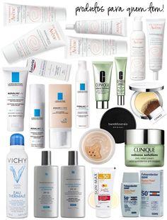 Dicas e indicações de produtos para quem tem rosácea no rosto.