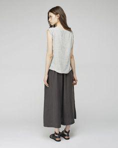 Black Crane | Wide+Culottes | La Garçonne