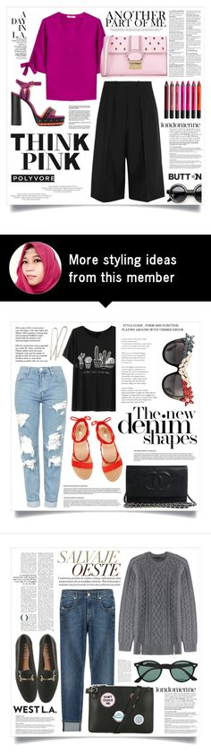 """""""TIPINK"""" by virgamaleva on Polyvore featuring Etro, Lanvin, Urban Decay, RED Valentino and Jil Sander"""