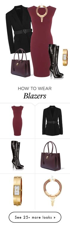 """""""outfit 2615"""" by natalyag on Polyvore featuring Donna Karan, Miss Selfridge, Salvatore Ferragamo, River Island, Sergio Rossi and Kate Spade"""