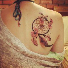 Cute dreamcatcher tattoo