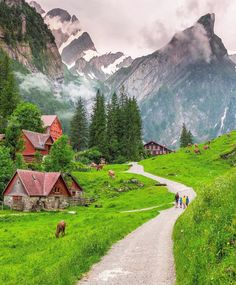 Would you live in a mountain village deep in the Swiss Alps? Imagine waking up to views like these every morning! Swipe Over to see more… village, Places To Travel, Travel Destinations, Places To Visit, Switzerland Destinations, Wonderful Places, Beautiful Places, Peaceful Places, Places Around The World, Around The Worlds