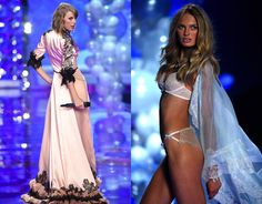 Did Taylor Swift Out-Victoria's Secret the Actual Victoria's Secret Models?