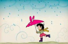 Rain Art, Pikachu, Fictional Characters, Home Decor, Illustrations, Decoration Home, Room Decor, Fantasy Characters, Home Interior Design