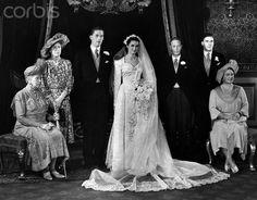 Mariage de George Lascelles et de Marion Stein