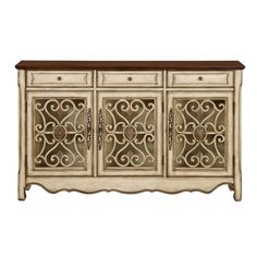 Coast to Coast Imports Coast to Coast Accents Three Drawer Three Door Credenza - Becker Furniture World - Accent Chests Sideboard Buffet, Credenza, Furniture Makeover, Home Furniture, Living Furniture, Sofa Tables, Console Tables, Accent Furniture, Wood Species