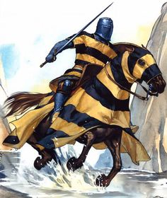 La Pintura y la Guerra. Sursumkorda in memoriam Medieval Knight, Medieval Armor, Medieval Fantasy, Armadura Medieval, Knight Armor, Crusader Knight, Fantasy Weapons, Chivalry, Knights Templar