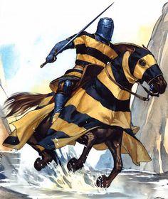 1200 - 1299 Caballero en la caída de Acre