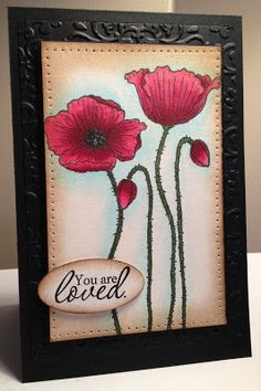Sweet 'n Sassy Stamps: Precious Poppies