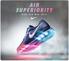 Air Max 2014 has arrived at #LadysFootlocker just in time for the holidays!