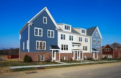 Venango Trails Townhome Building featuring Hardie Siding