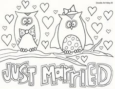 Print out some fun coloring pages for all those kids at your