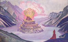 Nagarjuna, Conqueror of the Serpent - Nicholas Roerich