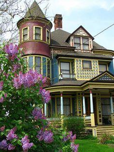Victorian, San Francisco, California photo via amor