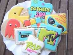 Totally 80's Cookies