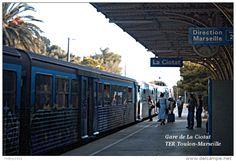 Gare de La Ciotat , Bouches-du-Rhône , TER Toulon-Marseille  - une photo…