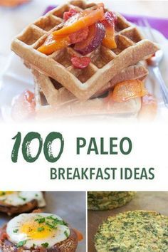 Easy Paleo breakfast ideas and recipes to get your day started with a healthy meal. These recipes are all gluten-free, grain-free, refined sugar free, and dairy free to reduce inflammation and improve wellbeing. Sweet Potato Buns, Sweet Potato Waffles, Sweet Potato Breakfast, Healthy Breakfast Recipes, Paleo Recipes, Breakfast Ideas, Diabetic Snacks, Healthy Snacks For Diabetics, Healthy Eating