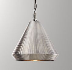 Colton Small Pendant - Aged Pewter