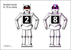 Robots uppercase and lowercase alphabet matching - SparkleBox Number Bonds To 20, Primary School Teacher, Robots For Kids, Uppercase And Lowercase Letters, Alphabet Activities, Lower Case Letters, Phonics, Kids Learning, Teaching Resources