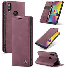 Simple-Style Leather Case for Samsung Galaxy A10 Flip Cover fit for Samsung Galaxy A10 Business Gifts