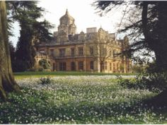 ...visit english country houses in the summer