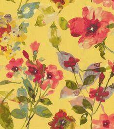 HGTV Home Decor Print Fabric Color Study Harvest