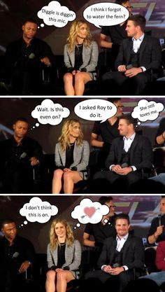"Meme - ""Olicity""/Team Arrow"