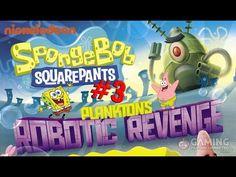 Spongebob Squarepants Game Full Episodes 3 - Plankton's Robotic Revenge ...