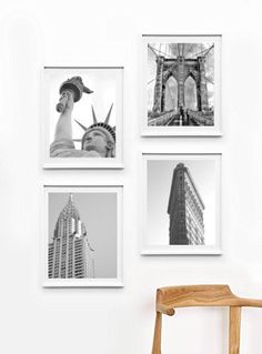 Inspired by the city life with all the hustle and bustle. Grab your very own NYC city art poster set, perfect for wall decor idea. This New York City art set comes in two size options of 8 x 10 inches Diy Home Decor Easy, Cheap Home Decor, Deco New York, Nyc Decor, New York Decor, Office Decor, Do It Yourself Decoration, Diy Home Decor For Apartments, Apartment Ideas