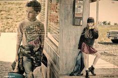 Collezioni dergisi için Gerard Harten tarafından 2014 editoryal çocuk moda hikaye Güz