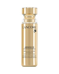 Absolue Ultimate Night BX Serum, 1 oz.  by Lancome at Bergdorf Goodman. - 11/2/2014 Vogue.com: This powerhouse night serum restores moisture and boosts cell regeneration. The result: Healthier, more even-toned skin by morning.