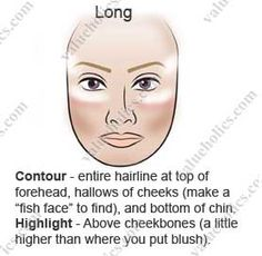 Avoid heavy contour in long face contouring your face contour long face ccuart Gallery