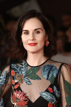 """Michelle Dockery in Valentino at the """"Downton Abbey"""" Rome Film Festival Premiere: IN or OUT? Downton Abbey Book, Michelle Dockery, Older Women Fashion, Cinema, Celebs, Celebrities, Star Fashion, Film Festival, Style Icons"""