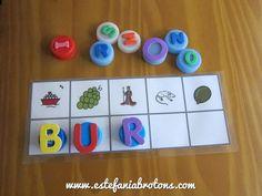 Adivina la palabra secreta! Con este juego, podrás trabajar la conciencia fonológica de una forma sencilla y con materiales reciclables. Entra para verlo!