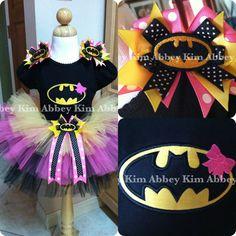 Batgirl tutu set black by Abbeykim1 on Etsy, $55.00
