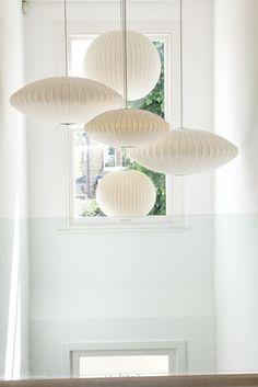 Pellmell Créations: Question / réponse : quel luminaire choisir pour un escalier contemporain ?
