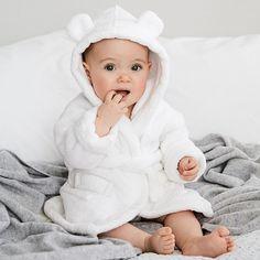 Hydrocotton Baby Robe | Newborn & Unisex | The White Company UK
