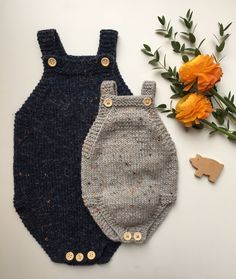 Lillebrors Romper (modify vintage romper with bottom buttons)