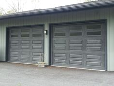 Wayne Dalton 9700 Overhead Door In Custom Black. Installed By Dutchess  Overhead Doors, INc. | Wayne Dalton | Pinterest | Wayne Dalton, Doors And  Front Gates