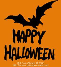 bat and happy halloween pattern pumpkin