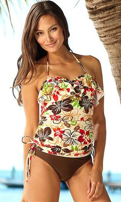 0fed449105 Cinch Gold Coast Tankini Top - Your shopping cart - Hapari Swimwear
